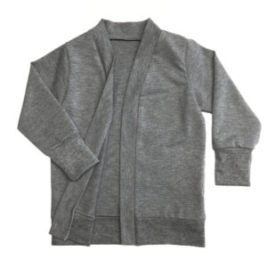 Oversized Cardigan Grey Melange