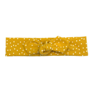 Top-Knot Haarband Dotties Ocher