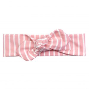 Top-Knot Haarband Stripes Blush