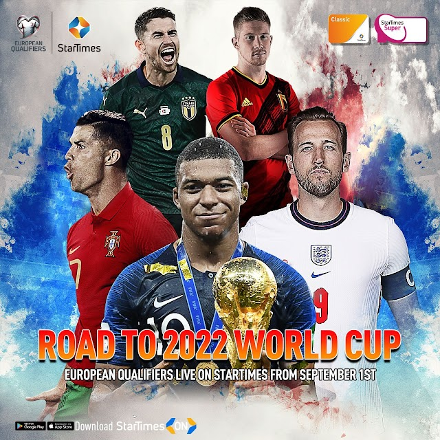 road to 2022 world cup