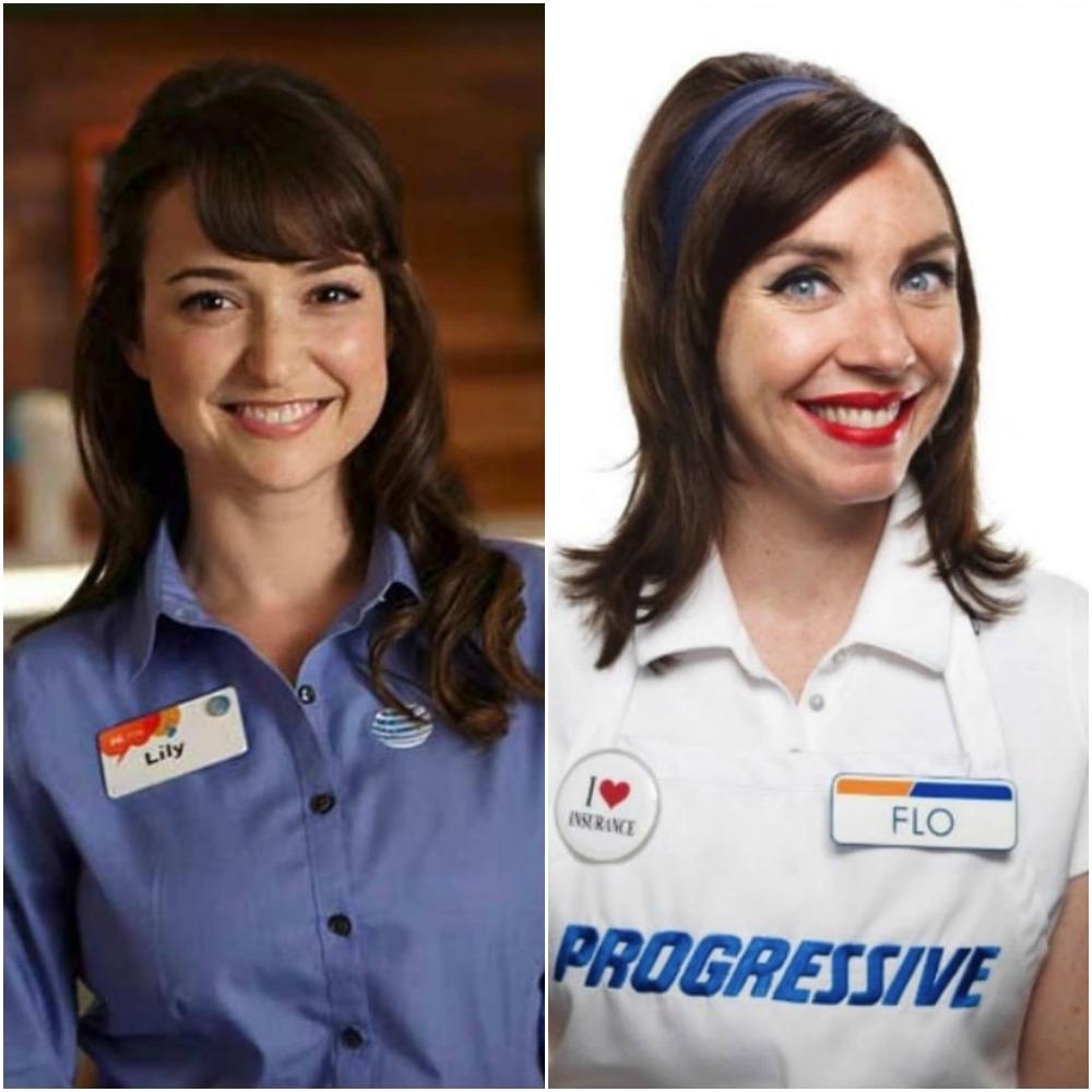 List Of Progressive Commercial Actors And Actresses