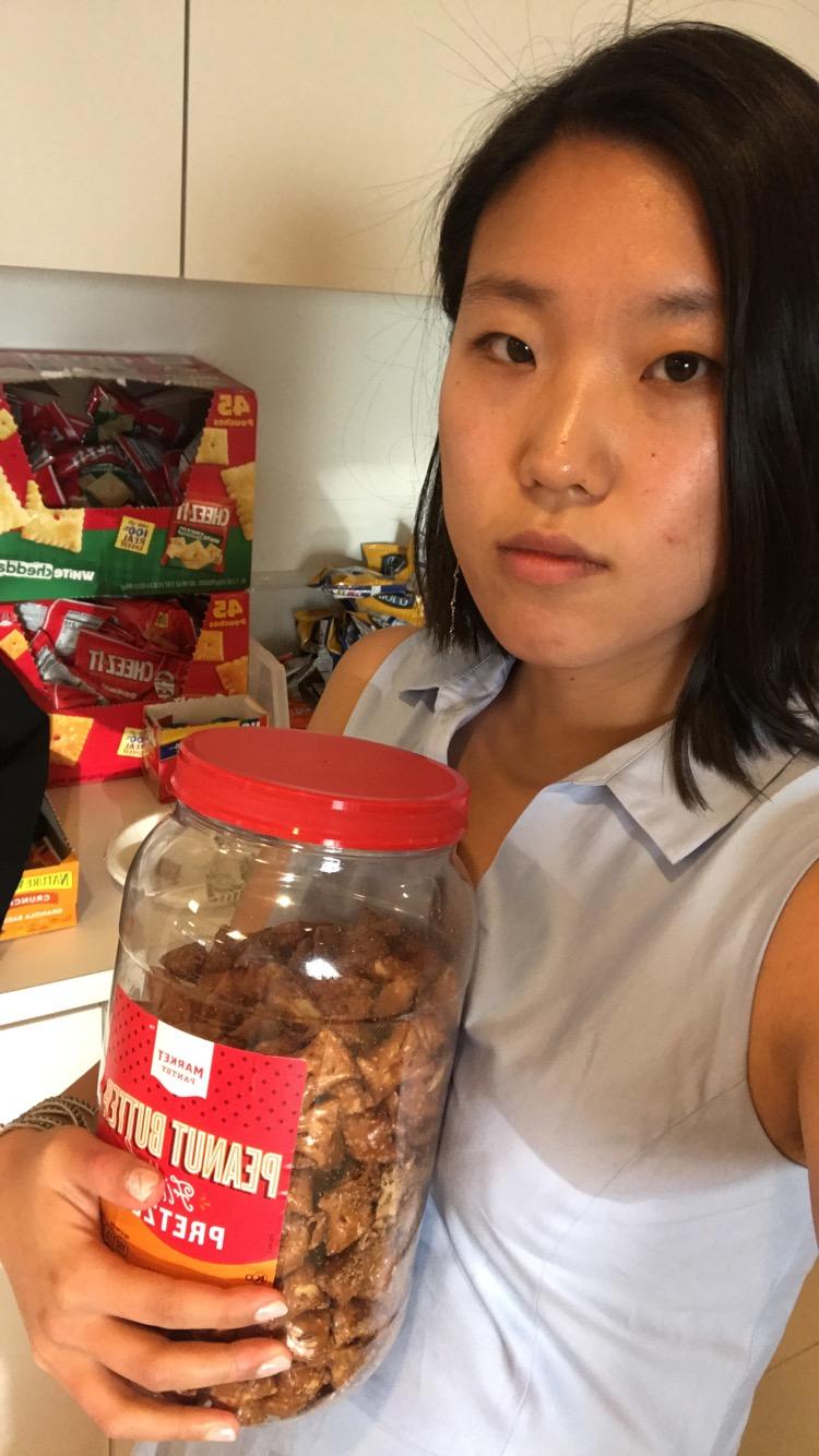 Jenny and Office Snacks.jpg