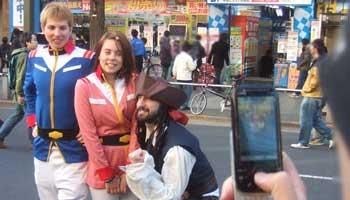 American Cosplay in Akihabara?
