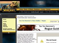 Rouge Guides for World of Warcraft