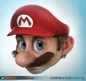 Picture of the real Mario from Super Mario Bros