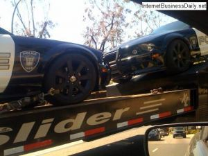 Transformers 2 Mustang Saleen Culver City