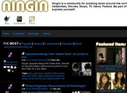 Ningin, the Asian Social Bookmarking Community