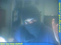 Louis as a Ninja