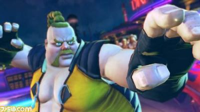 Street Fighter 4 New Character: Rufus