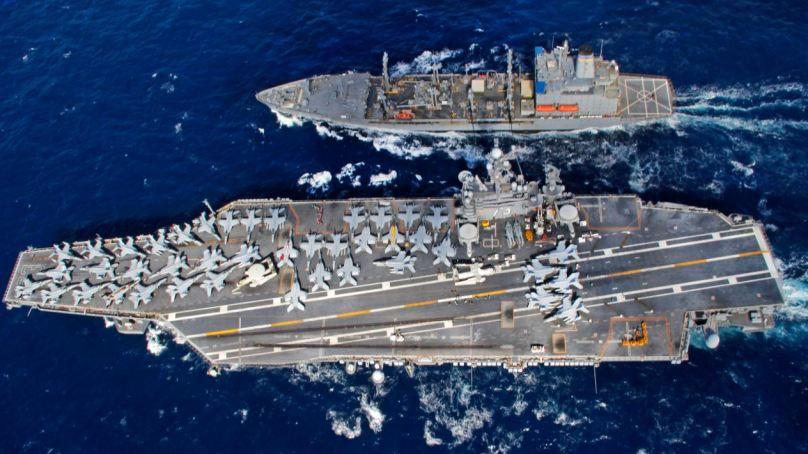 U.S. Navy makes CVN-73 manga