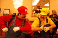A-Kon 19 Guinness Record: Mario & Wario