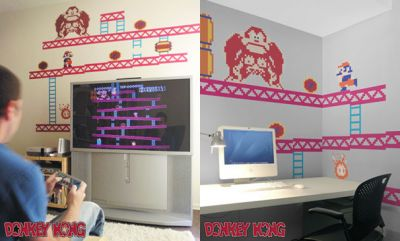 Super Mario Bros Decals