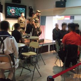 A Marine Corps Cafe in Japan