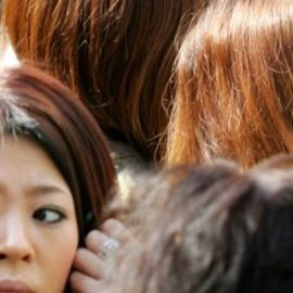 Japan's brown haired plague