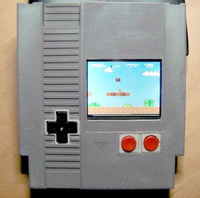 Nintendo custom cartridge mod
