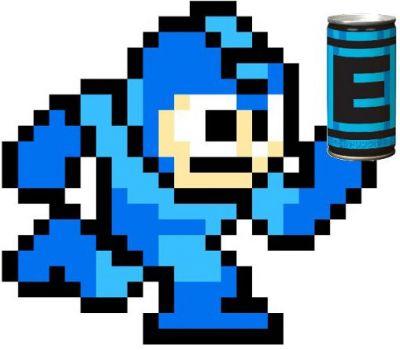 Mega Man 9 Energy Drink