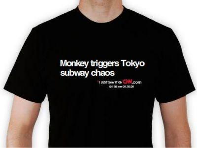 Monkey Tokyo chaos the shirt!
