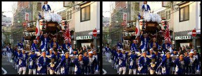 3D Japanese festivals
