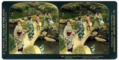Stereoscopic Rural Japan