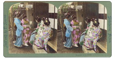 Stereoscopic Rural Japan