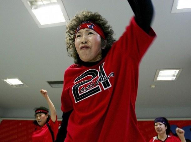 The Hip-Hop Grannies Dance Troupe