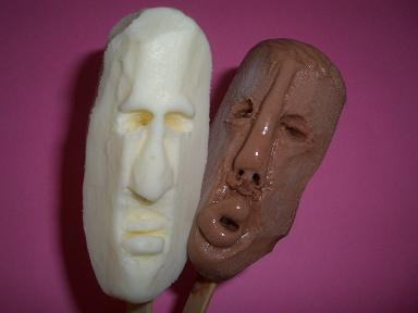 IceFace Ice Cream Sculpture