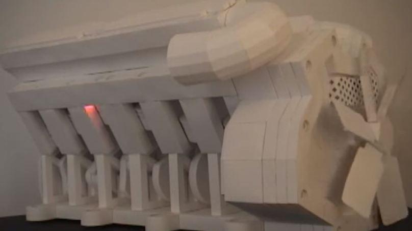 V12 Origami Engine