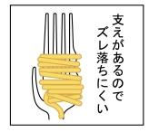 Calamete Spaghetti Fork