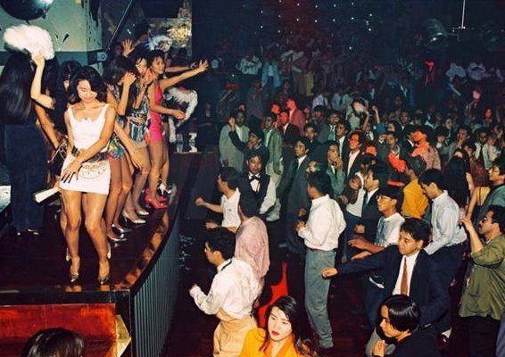 Japan's bubble clubs return for one night only
