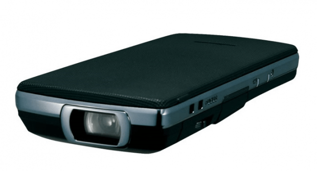 DLP projector in a phone