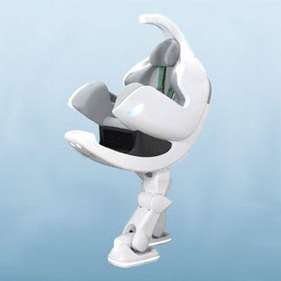 Toyota\'s i-Foot Robot
