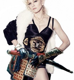 Madonna is a Japanese warrioress