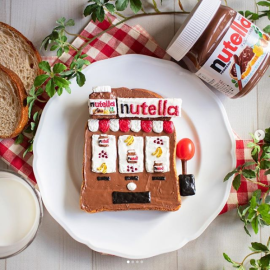 Japan unveils a Nutella vending machine!