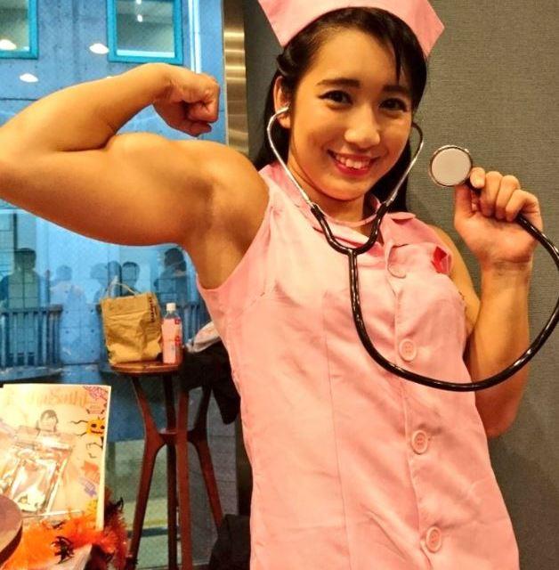 Reika Saiki nurse cosplay
