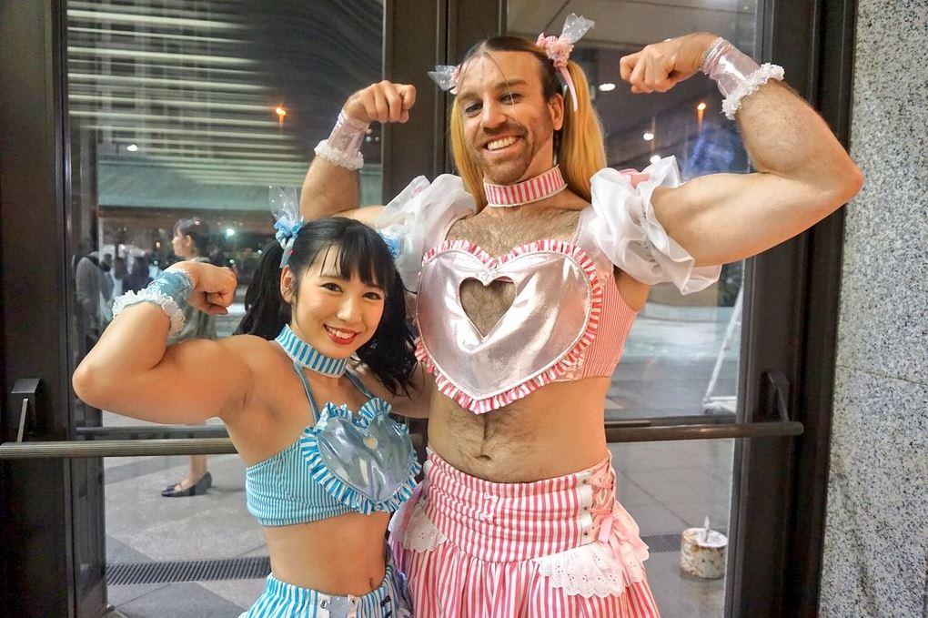 Reika Saiki and Lady Beard from Deadlift Lolita