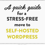 Moving to self-hosted WordPress isn't as overwhelming as you think, here's how!