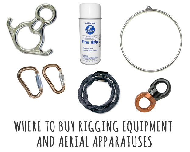 Where to buy aerial apparatuses and rigging equipment