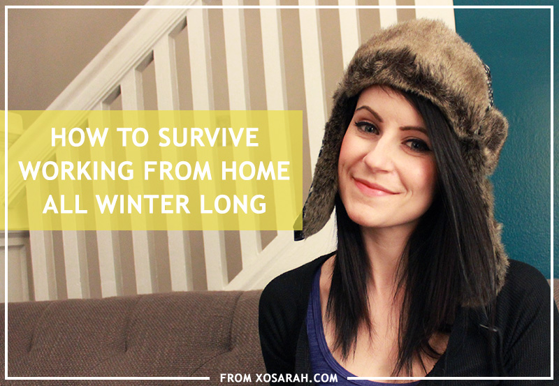 How to survive working from home all winter long