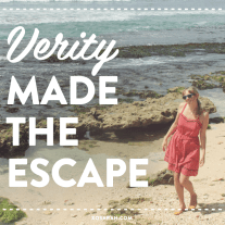 Learn how one woman left the corporate world to build her own business in paradise