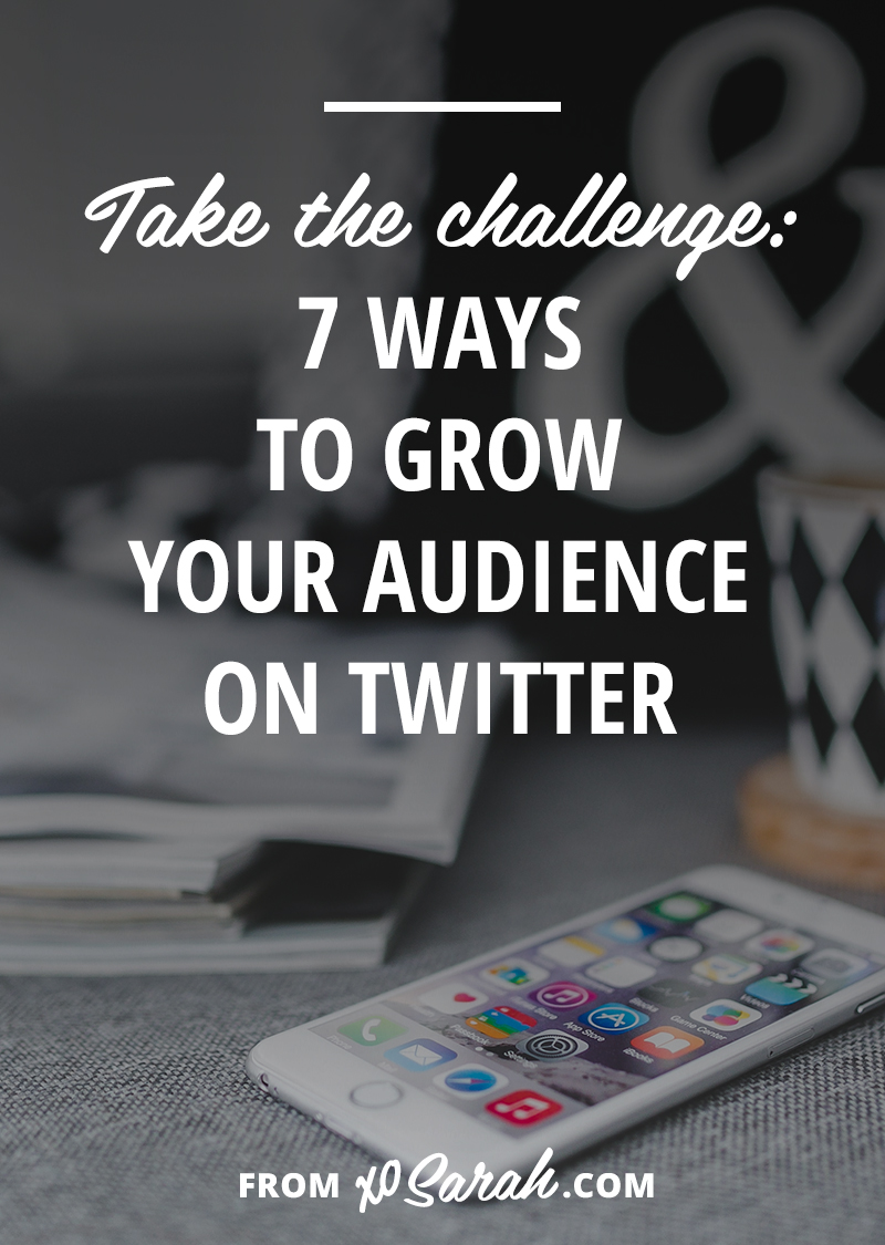 Here are 7 tips to help you grow your Twitter audience. They're short, simple, and easy to add into your daily life immediately. If you complete all seven steps I have 100% confidence you'll see new followers pop up all week long!