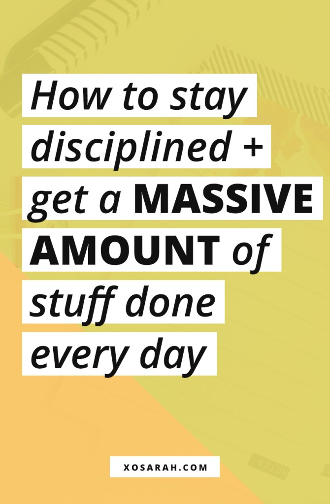 You don't need to be glued to your computer 24/7 to get a ton of work done. Here are my best productivity tips and hacks to help you to stay focused and feel productive all day long.