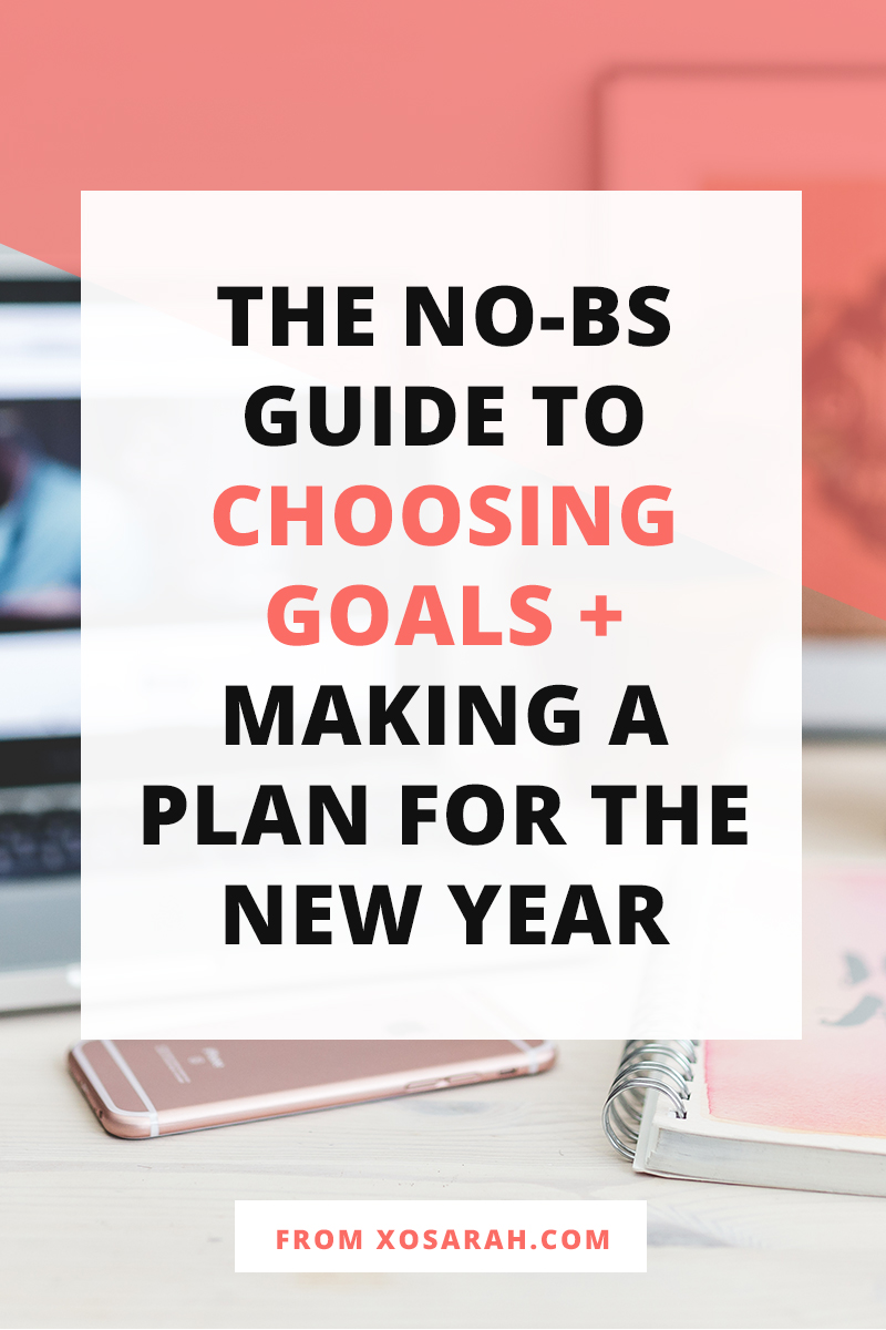 Choosing and conquering goals isn't always easy, so here's your new year guide for how to pick goals you'll actually accomplish, create a plan that fits into your life, and make sure that your commitment and focus see you through to the end.