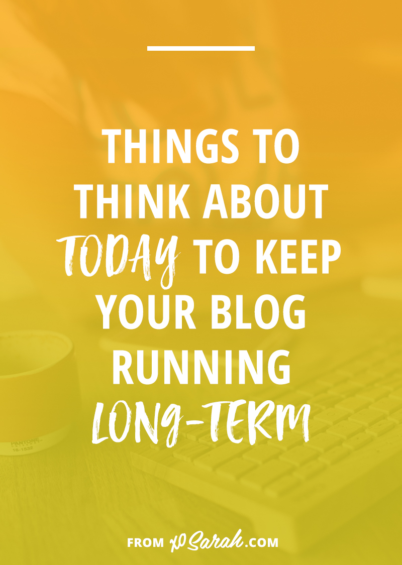 If you've put time and possibly money into starting a blog you're not planning on ditching it after a few months, right? Except, for a lot of bloggers, this is exactly what happens. They skip a post and ignore social media for a few days and then days turn into weeks and weeks turn into months and they realize they've stopped blogging altogether. Sound familiar? Click to learn the 6 things you need to know to keep blogging for years.