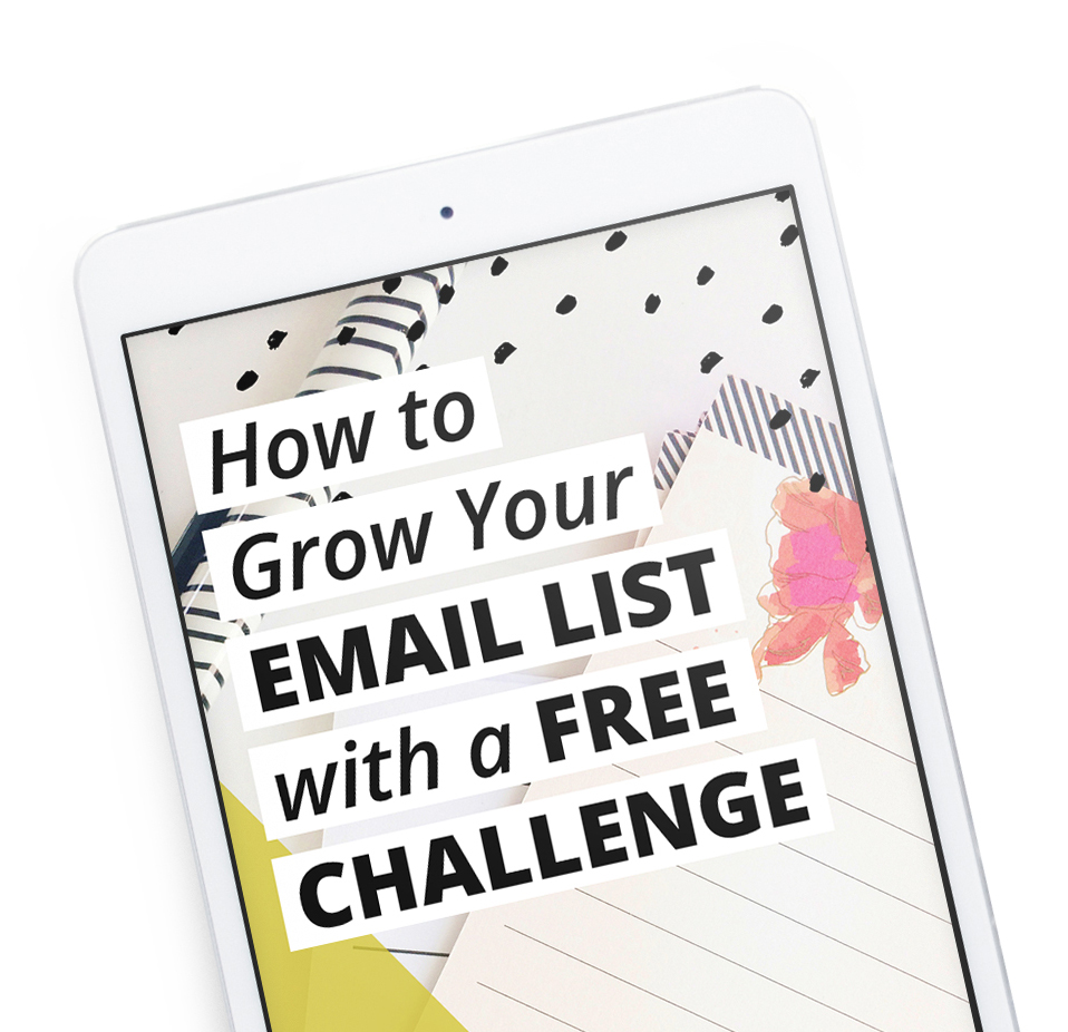 Think you need to do webinars to grow your email list? Think again! A free challenge can add double or triple the subscribers of a webinar without all the stressful tech setup. Download the ebook and learn how!