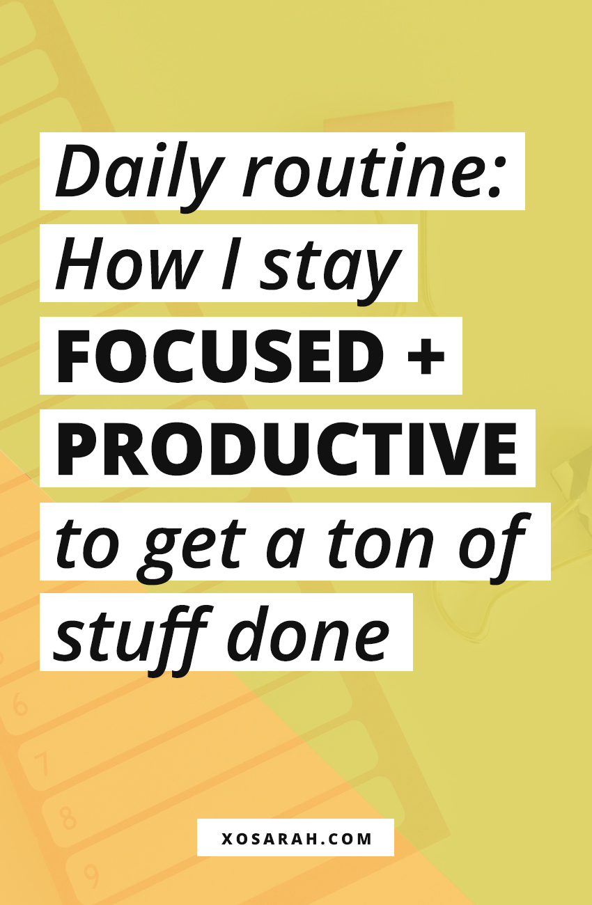Hey Solopreneur! Ready to be productive and accomplish more every day? I'm sharing my morning routine, daily strategies, and how I organize my tasks in my planner to stay motivated all day.