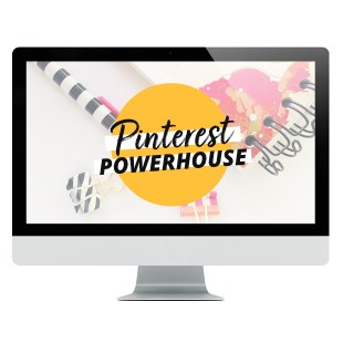 Pinterest Powerhouse online course from XOSarah