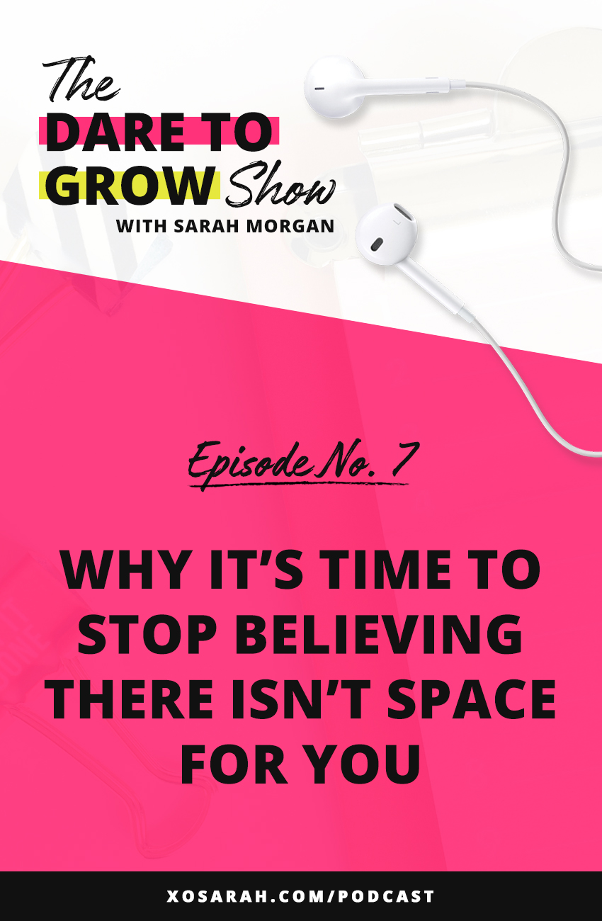 Online business can be loaded with mindset issues, so if you're not sure how you'll ever stand out in your niche, this episode is for YOU.