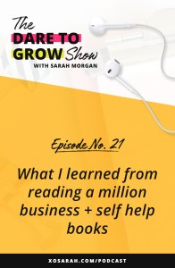 Hey Solopreneur! Looking to scale your online business? Here are 6 of my biggest takeaways from all the business and self-help books that will help grow your business but aren't marketing strategies at all.
