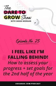 Hey Solopreneur! If you're also wondering where the last 3 months went and are feeling like you're falling behind, today's episode is for YOU! I'm sharing my process for assessing accomplishments in your business so far, figuring out what worked and what didn't, and setting goals for Quarter 3 + 4.
