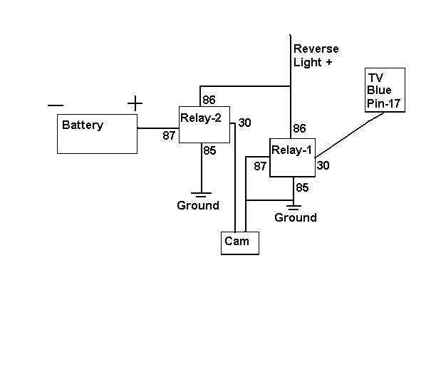 wiring diagram for a camera